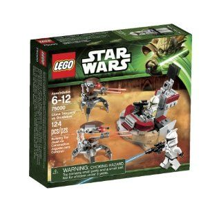 LEGO Star Wars Clone Troopers vs Droidekas 75000: Toys & Games