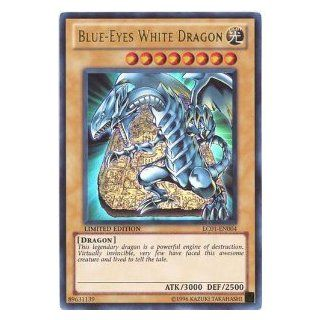 Yu Gi Oh!   Blue Eyes White Dragon (LC01 EN004)   Legendary Collection   Limited Edition   Ultra Rare: Toys & Games