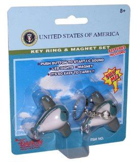 Air Force One Key Chain And Magnet Set (**) Kitchen & Dining