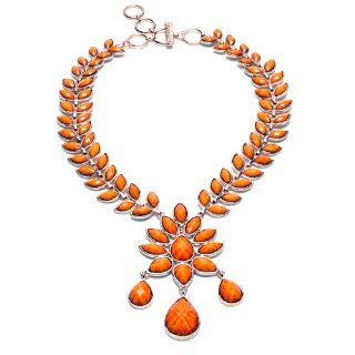 Amrita Singh Dune Necklace (Honey Gold): Pendant Necklaces: Jewelry