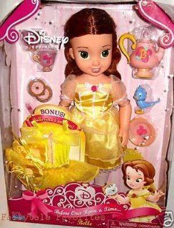 "Disney Belle Doll Before Once Upon a Time 15"" with Bonus Ballerina Outfit: Toys & Games"