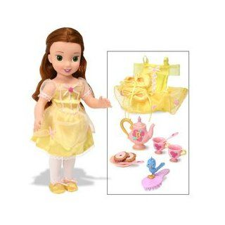 Disney Princess Before Once Upon A Time   Belle with Tea Set Toys & Games