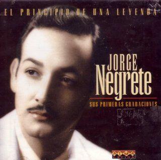 Jorge Negrete Sus Primeras Grabaciones Music
