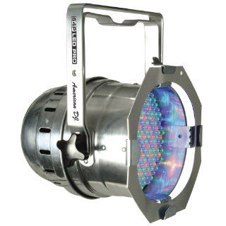 American DJ Par 64 LED Pro Polished/Chrome DMX RGB 10mm LEDs: Musical Instruments