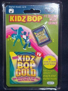 Kidz Bop Gold Digital Media Mix Clip Card for Mix Stick & Mix Max + Others: Toys & Games