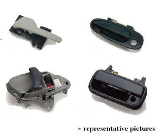 TOYOTA COROLLA 98 02 REAR OUTSIDE DOOR HANDLE RH BLACK replacement 1 PC 1998,1999,2000,2001,2002: Automotive