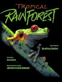 Tropical Rainforest (Large Format) [VHS]: Geoffrey Holder, Timothy Housel, Ben Shedd, Vincent Stenerson, Marian White, Mike Day, Simon Campbell Jones: Movies & TV