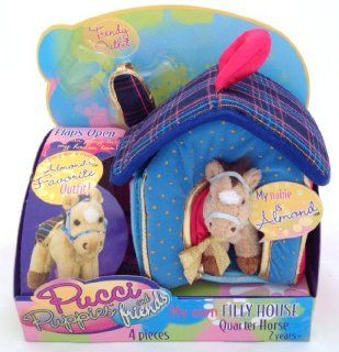 Pucci Puppies & Friends My Own Filly House Quarter Horse: Toys & Games