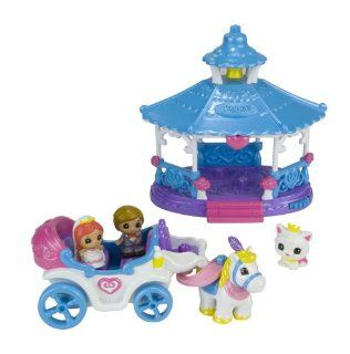 Blip Squinkies Wedding Gazebo And Carriage Playset: Toys & Games