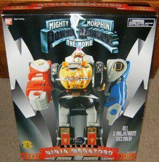 Power Rangers Deluxe Ninja Megazord Movie Edition: Toys & Games