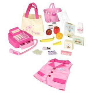 Our Generation Grocery & Cash Register Accessory Set: Toys & Games
