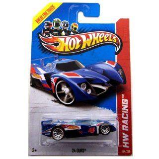 "Hot Wheels 24 Ours (Blue) ""HW Race Team"" (HW Racing   2013) #104/250 164 Scale Die cast Model Racer Toys & Games"