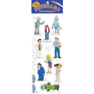 Futurama: Pop Out People and 2 Backgrounds: Matt Groening: 9781569716366: Books