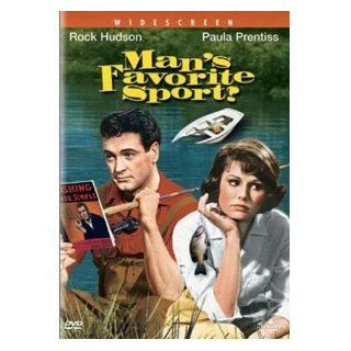 Man's Favorite Sport DVD (Ws) 1963 < Rock Hudson, Paula Prentiss: Harry James,  Perry Como, Alice Faye, Phil Baker Carmen Miranda, Bryan Foy William LeBaron, Paula Prentiss Rock Hudson, Howard Hawks: Movies & TV