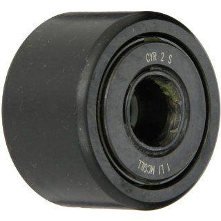 "McGill CYR2S Cam Yoke Roller, Sealed, Inch, Steel, 2"" Roller Diameter, 1 1/4"" Roller Width, 5/8"" Inner Diameter, 1 5/16"" Overall Width, 1.41"" Endplate Diameter: Cam Yoke Roller Bearings: Industrial & Scientific"
