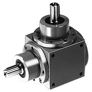 Bevel gearbox KU/I, type K, size 0, type 10 gear ratio 1:1 (For operating instructions please visit the download area of our website www.maedler.de): Mechanical Gearboxes: Industrial & Scientific