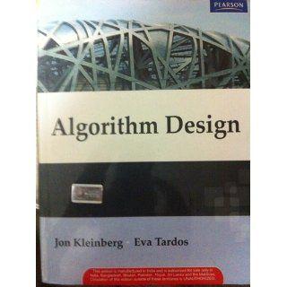 Algorithm Design (9780321295354) Jon Kleinberg, �va Tardos Books