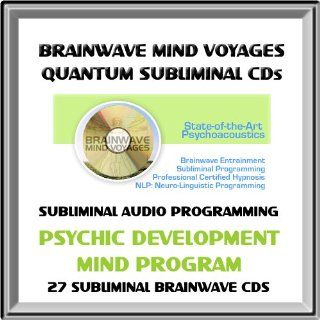 Develop Your Psychic Ability: Subliminal Mind Program 27 CD Collection Using Brainwave Entrainment Technology and Subliminal Programming (27 BMV Quantum Subliminal Audio CDs: Psychic Development, ESP Extrasensory Perception, Telepathy, Precognition, Channe