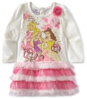 Disney Girls 2 6X Toddler Disney Princess Dress Clothing
