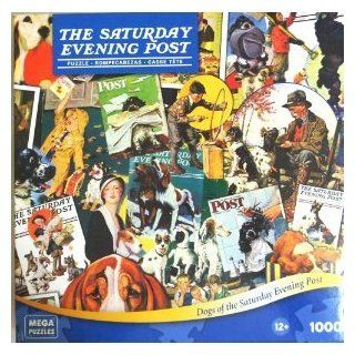 The Saturday Evening Post 1000 Piece Puzzle   Dogs Toys & Games