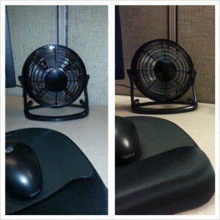 IO Crest Mini USB Powered Desktop Cooling Fan SY ACC65055: Computers & Accessories