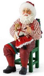 Enesco Department 56 Clothtique Possible Dreams *Doll Magic* Santa Painting Doll : Collectible Figurines : Everything Else