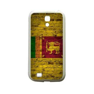 Sri Lanka Brick Wall Flag Samsung Galaxy S4 White Silcone Case   Provides Great Protection: Cell Phones & Accessories