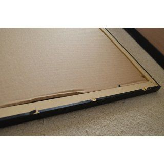 20x30 / 20 x 30 Black Picture Frame   NEW .. 1.25'' wide Complete