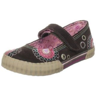 Stride Rite Toddler/Little Kid Alysia Mary Jane Sneaker,Brown Multi,5 M US Toddler Shoes
