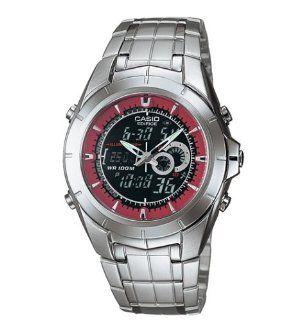 Casio Men's EFA119D 1A4V Ana Digi Edifice Thermometer Bracelet Watch at  Men's Watch store.