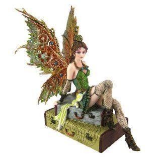 World Traveler Steampunk Fairy Statue Steam Punk   Statues