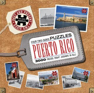 Puerto Rico Past to Present Puzzles Dominic Couzens Toys & Games