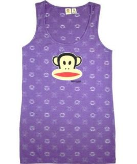 Paul Frank Julius Head Burned Out Tank Top (X SMALL) at  Women�s Clothing store