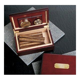 Wedding Favors Personalized Cherry Wood Humidor: Health & Personal Care