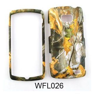 LG Ally vs740 Camo/Camouflage Hunter Series, w/ Dry Leaves Hard Case/Cover/Faceplate/Snap On/Housing/Protector: Cell Phones & Accessories