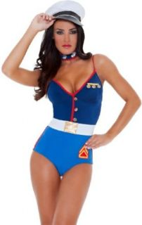 3WISHES 'The Proud Costume' Sexy Marine Halloween Costumes for Women: 3WISHES: Clothing
