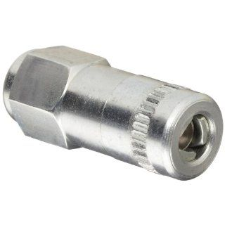"Alemite 6304 C Hydraulic Coupler, Standard Type, Provides Leakproof Connection with Hydraulic Fittings, 1/8"" Female NPTF: Hydraulic Hose Fittings: Industrial & Scientific"