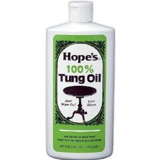 Hope Company Household Dust Dirt Stain Cleaning 100% Tung Oil Pint 16 Oz: Grocery & Gourmet Food