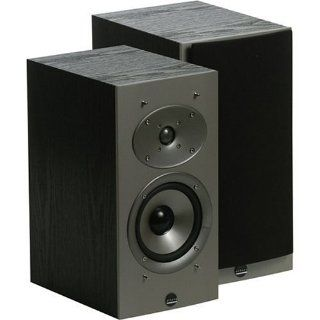 Athena AS B1.2 Audition Series 2 Way Bookshelf Speakers, Black Ash (Pair) (Discontinued by Manufacturer): Electronics