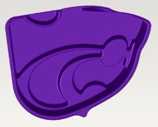 Kansas State K State Wildcats Logo Cake Pan & Dessert Mold: Kitchen & Dining