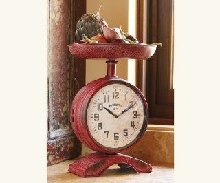 Time & Measure Kitchen Clock   Shelf Clocks