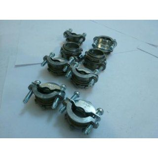 "Halex 10401 LOT 8 Clamp Connector 0.375"" min. wire Dia: Conduit Fittings: Industrial & Scientific"