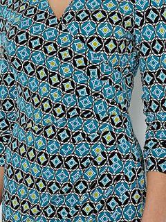 Episode Tile print long sleeve Multi Coloured