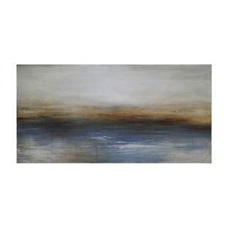 Charlene Lynch 'Calm Seas' Hand painted Canvas Art Prints