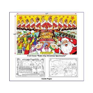 Radio City Christmas Spectacular Coloring Book (17x11) ColoringBook, Madison Square Garden Entertainment, Really Big Coloring Books, RBCB artist K. Keirnan, RBCB artist M. Cadeg, RBCB artist S. Pileggi 9781935266242 Books