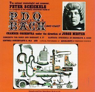 The Eminent Musicologist and Composer, Peter Schickele in a program of the recently discovered works of P.D.Q. Bach (1807   1742)? by P.D.Q. Bach, Peter Schickele (1990) Audio CD Music