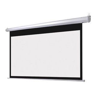 """Heavy Duty Design Electric Projector Screen Dual Wall Celling Installation Design Mounted 100"""" Inch In 169   Panel Screens"""