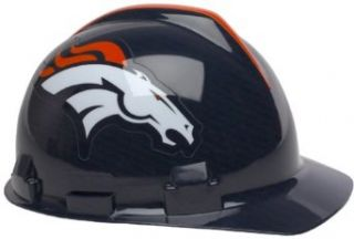 Denver Broncos Hard Hat : Sports Related Hard Hats : Sports & Outdoors