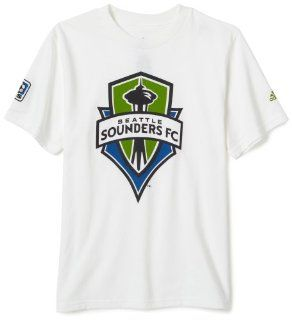 MLS Seattle Sounders FC Youth Giant Crest T Shirt (2X Large) : Sports Related Merchandise : Sports & Outdoors