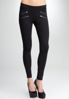 bebe Four Zipper Leggings Related Blk m at  Women�s Clothing store